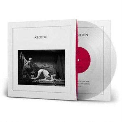 JOY DIVISION : CLOSER - 40TH ANNIVERSARY (180G/CRYSTAL CLEAR VINYL)