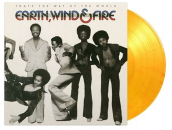 EARTH, WIND AND FIRE : THAT'S THE WAY OF THE WORLD (180G/FLAMING COLOR VINYL)