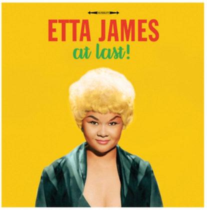 ETTA JAMES : AT LAST (180G/YELLOW VINYL)
