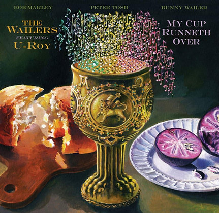 BOB MARLEY & THE WAILERS : MY CUP RUNNETH OVER (LP VINYL)
