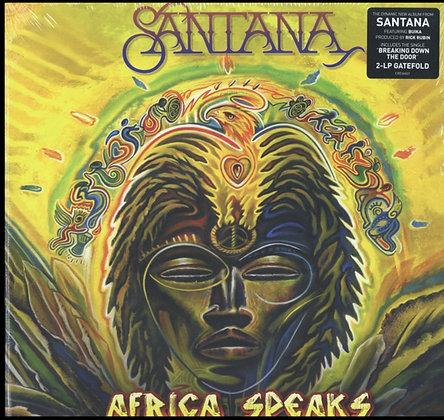 SANTANA : AFRICA SPEAKS (2LP VINYL / GATEFOLD))