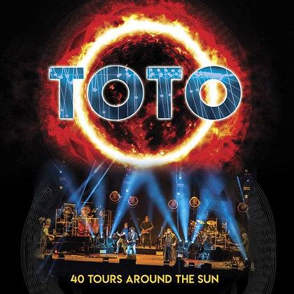 TOTO : 40 TOURS AROUND THE SUN (3LP VINYL)