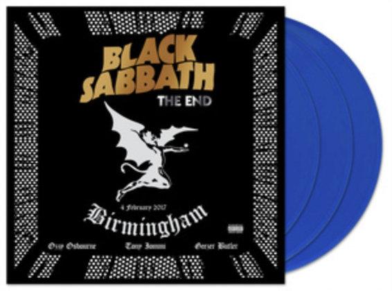 BLACK SABBATH : THE END(LIVE FROM GENTING ARENA BIRMINGHAM 2017 (BLUE VINYL/3LP)