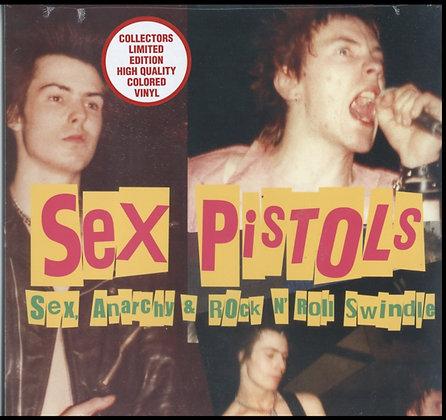 SEX ANARCHY & ROCK N ROLL SWINDLE (COLORED VINYL)