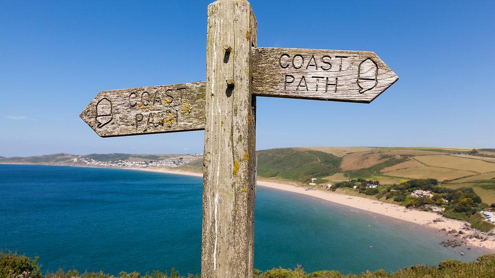 North Devon, Croyde Bay and Saunton Sands Guided Walk