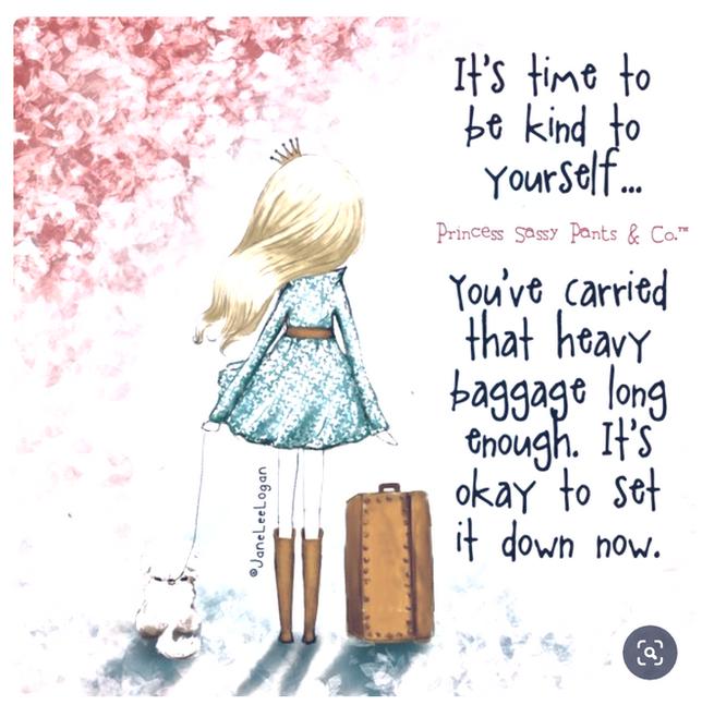 Do you carry emotional baggage ?