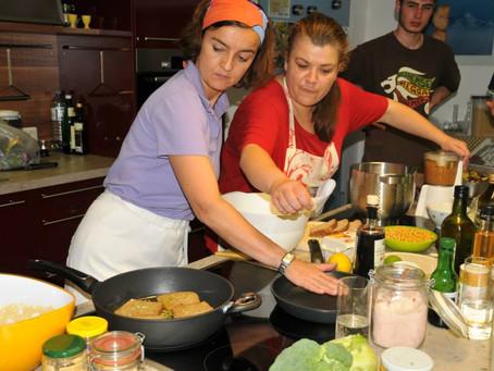 Bald geht´s wieder los mit den Kochkursen!!!