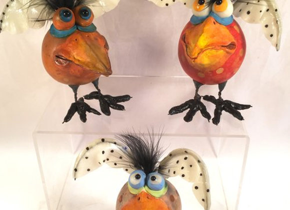 Winged birds