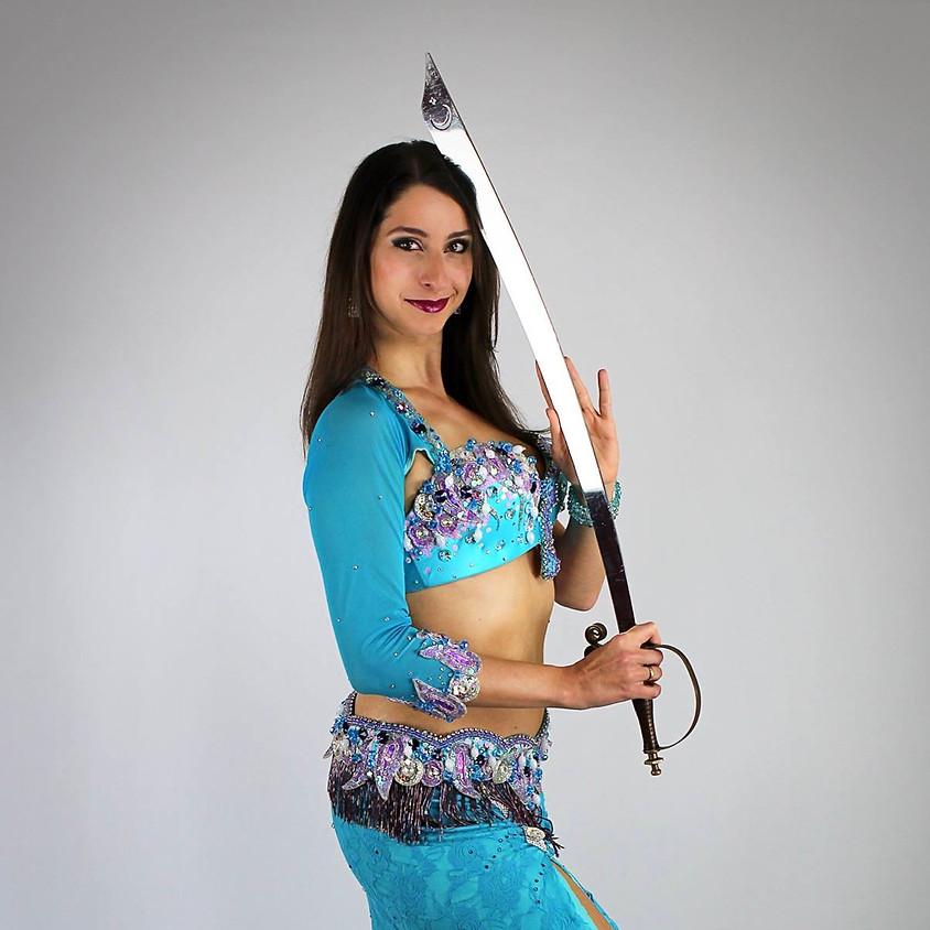 Sword Choreography with Vanessa