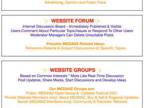 Groups, Blogs and Forums