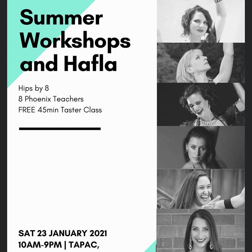 Phoenix Summer Workshops and Hafla - Auckland