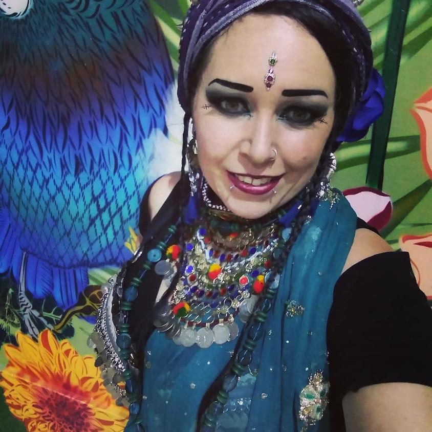 Divine Chaos Skirt with Samantha Flower Nova
