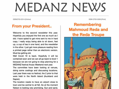 MEDANZ News August 2020