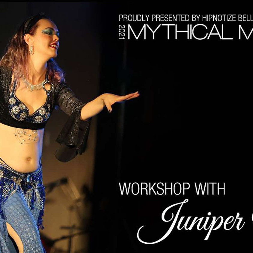 Workshop with Juniper, 2021 Mythical Menagerie, Palmerston North