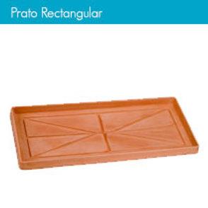 PRATO PLAST. RECT. 100