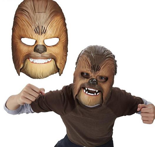 Máscara electrónica de Chewbacca, Star Wars