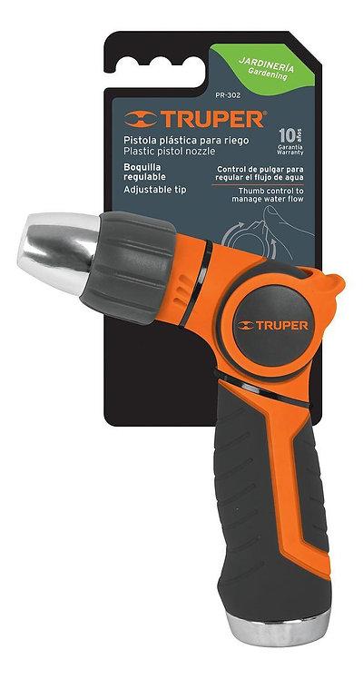 Pistola para riego Truper 2 funciones