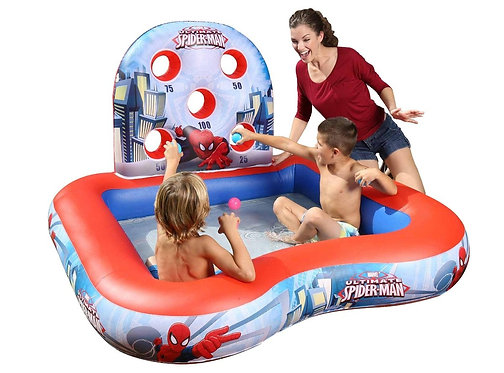 Piscina inflable Spiderman