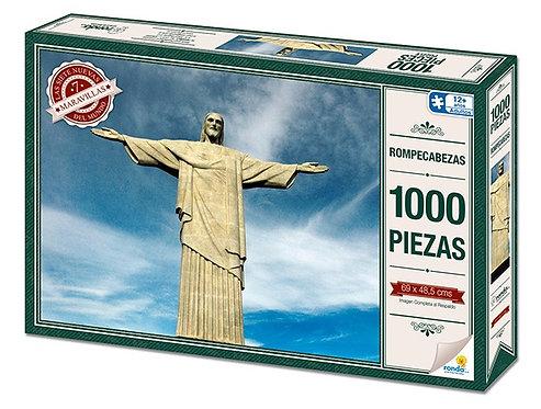 Rompecabezas 1000 piezas - Cristo Sao Paulo Brazil