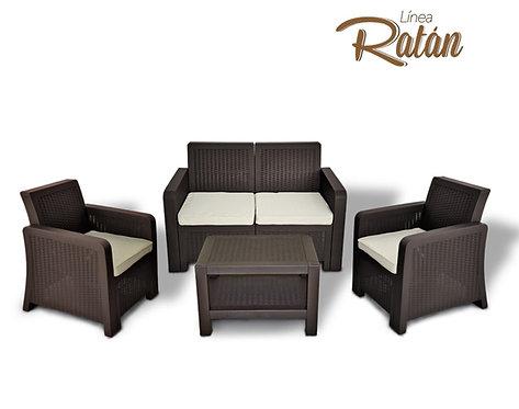 Juego de muebles Ratan Pica