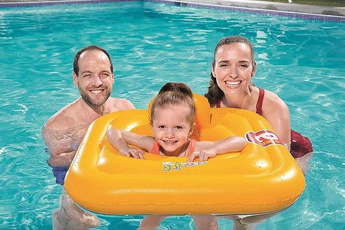 Boya Bestway Swim Safe con asiento 1-2 años
