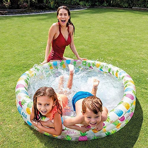 Piscina inflable infantil Intex peces