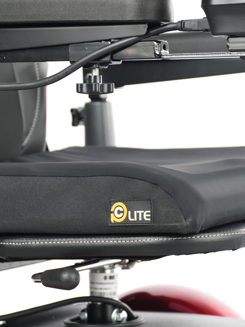 PC Lite on pan seat