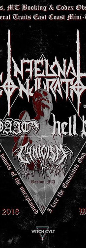 Infernal Conjuration live in Boston August 16, 2018