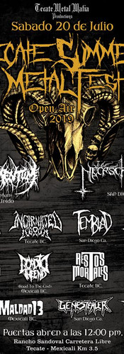 Tecate Summer Metal Fest 3
