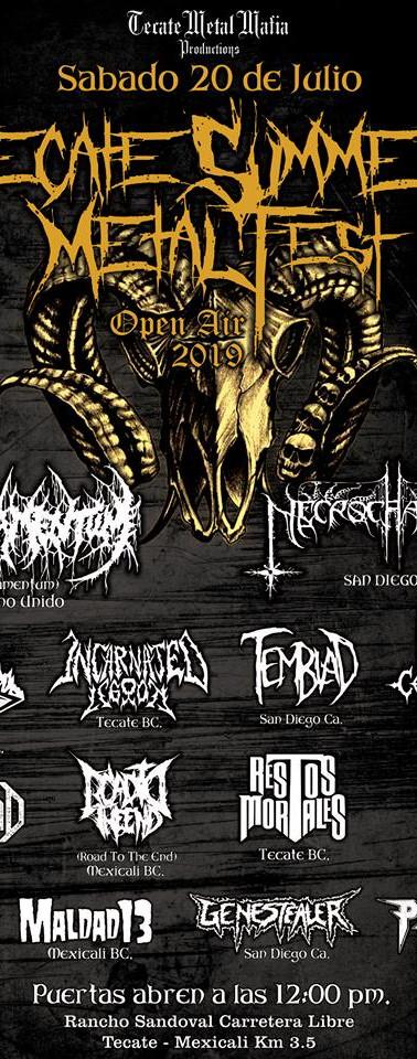 Tecate Summer Metal Fest 3