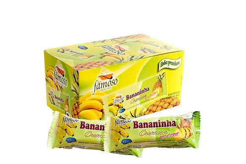 Bananinha Cremosa com Abacaxi - Tradicional