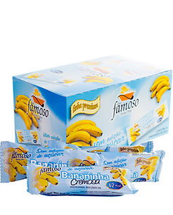 Bananinha Cremosa Diet embalagem  grande