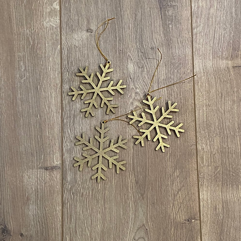 Tree Décor - Snow flakes