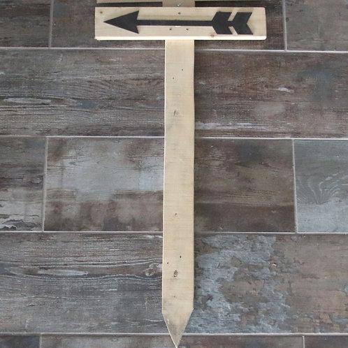 Direction Pallet Board - Arrow