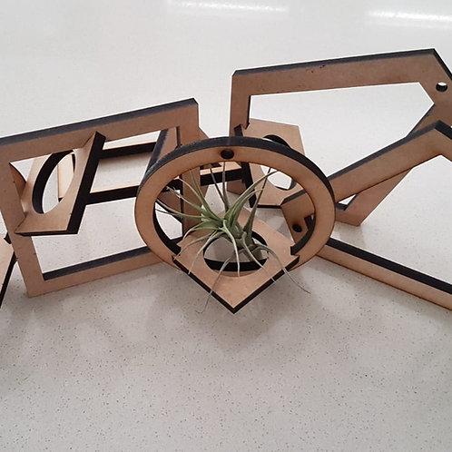 Decorative Air Plant Holder
