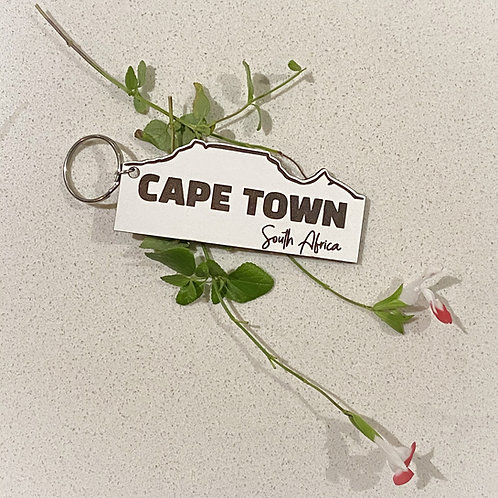 Cape Town Keyring