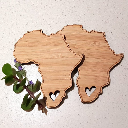 Africa Coasters (Set of 4)