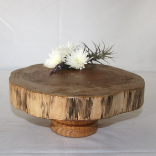 Wooden stand with wooden base