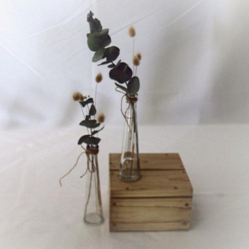 Pyramid Vase Single Flower