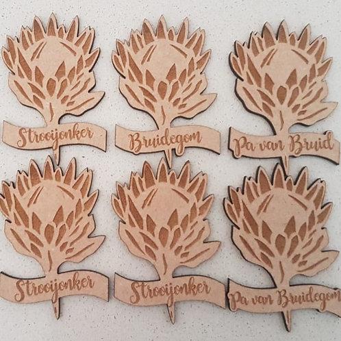 Protea Badge