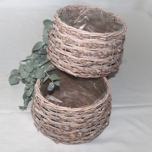 Confetti Baskets Blush