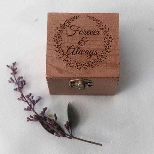 Forever & Always Rose Gold Sprayed