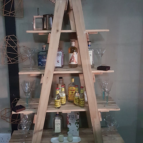 A-Frame Stand with Shelves