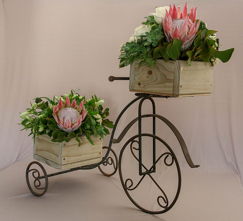 Vintage Tricycle For Flower Decor