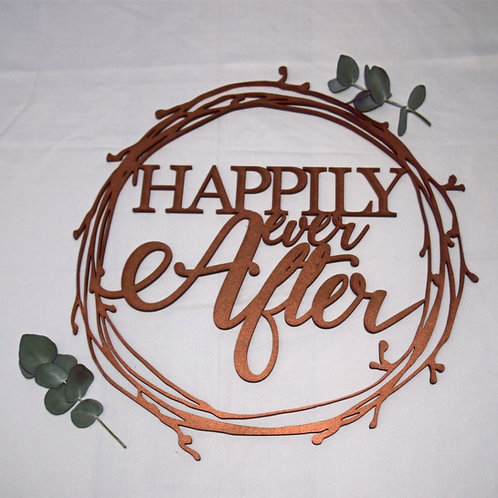 Wreath - Happily Every After