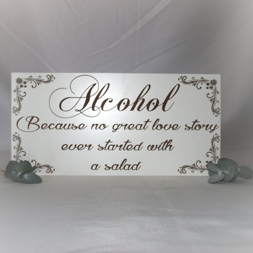 Alcohol, because no great story...