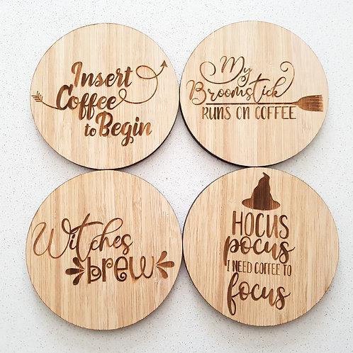 Coffee Coasters (Set of 4)