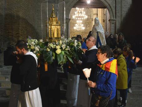 Visita a nuestra diócesis de las reliquias de Santa Bernadette.