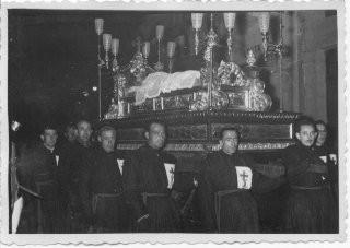 Paso del Santo Sepulcro en 1961