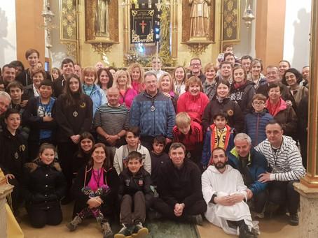 Gran jornada de convivencia en el Monasterio de El Pueyo